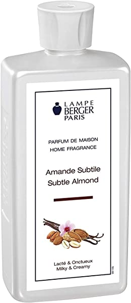 Subtle Almond Lampe Berger Fragrance Refill For Home Fragrance Oil Diffuser Purifying And Perfuming Your Home 16 9 Fluid Ounces 500 Millimeters Made In France
