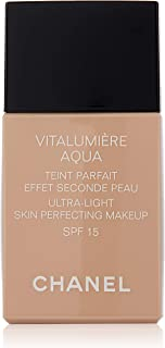 Chanel Vitalumiere Aqua Ultra-Light Skin Perfecting Makeup SPF 15, 22 Beige Rose, 30ml