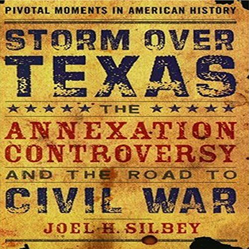 Storm Over Texas audiobook cover art
