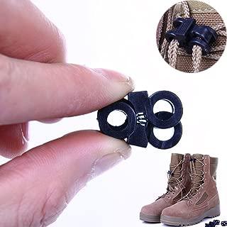 Shoelace Lock Cord Locks Double Hole Outdoor Sport Cord Locks 6mm 10 Pcs
