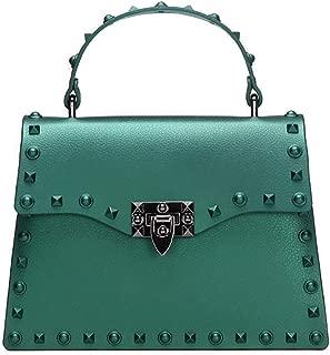 COAFIT Women's Satchel Bag Rivet Top Handle Bag Crossbody Bag Travel Backpack