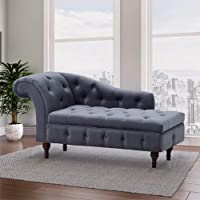 Wooden Furniture City Storage Couch Luxury, Polyester, Rubber, Foam, 140 x 63 x 71 cm