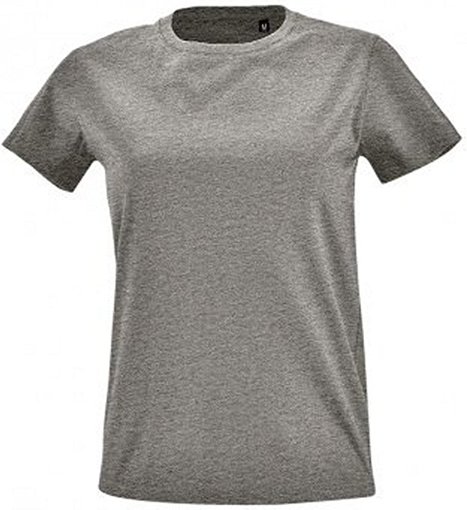 SOL'S Womens/Ladies Imperial Fit Short Sleeve T-Shirt
