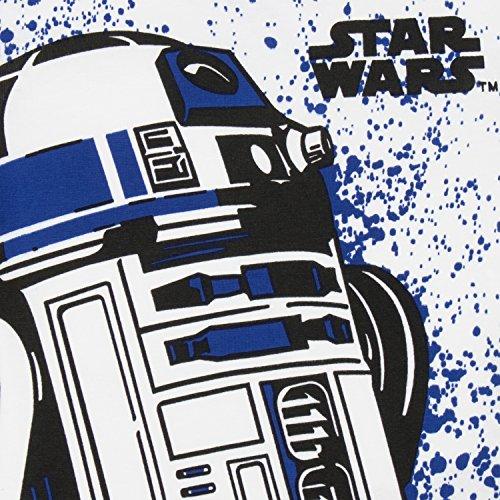 Star Wars Pijama para Niños R2D2 Ajust Ceñido Multicolor 3-4 Años