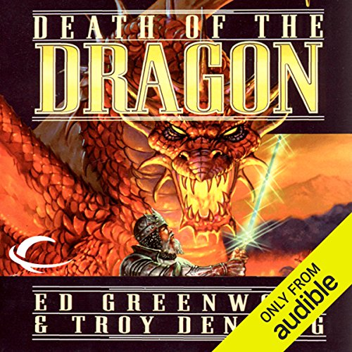 Death of the Dragon audiobook cover art