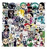 ZXXC 100 Piezas Hunter × Hunter Graffiti Pegatina Dibujos Animados Anime Maleta Trolley Maleta PVC Pegatina