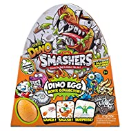 ZURU SMASHERS 7440 Super Egg Collectible Tin with Exclusive Smasher Series 3 Dino, Orange, One Size