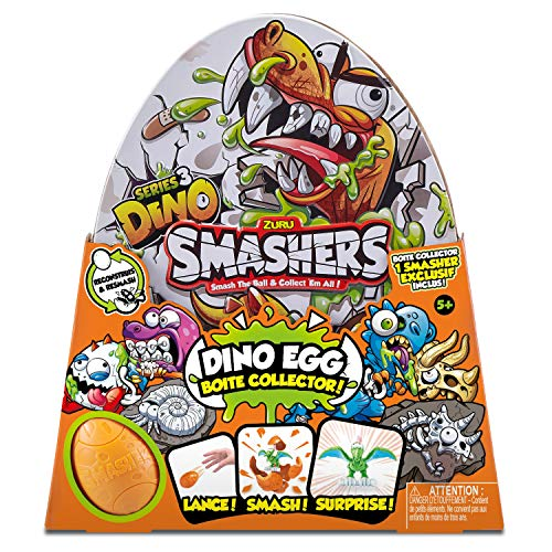 ZURU SMASHERS 7440 Super Egg - Lata Coleccionable con Exclusivo Smasher Series...