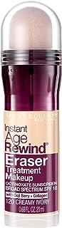 Maybelline New York Instant Age Rewind Eraser Treatment Makeup, Creamy Ivory, 0.68 fl. oz.