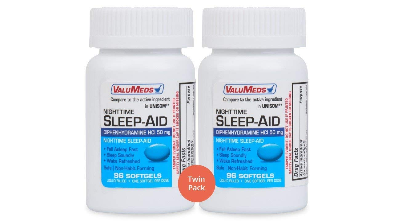ValuMeds Nighttime Sleep Twin Pack