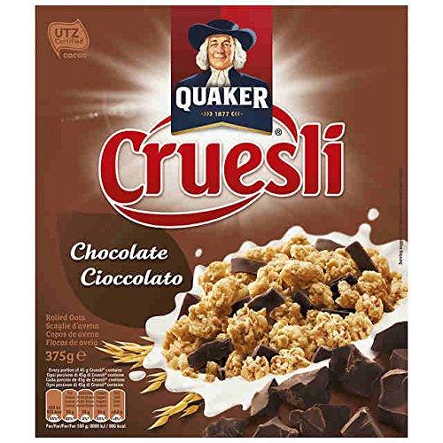 Quaker - Cruesli Chocolate 375 g - pack de 3