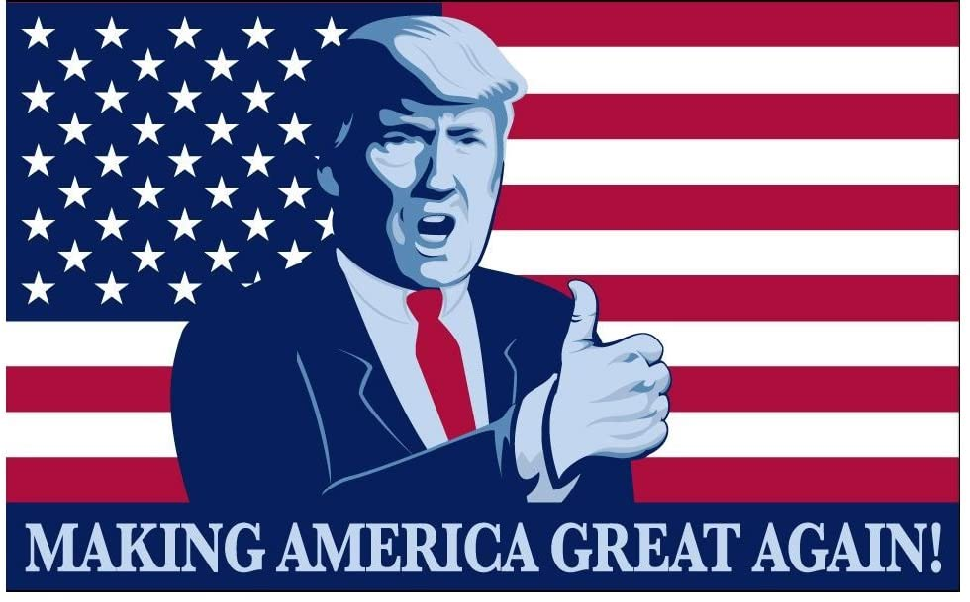 Donald Trump President Make America Great Super popular specialty store Thumbs MAGA U Again Max 78% OFF Up