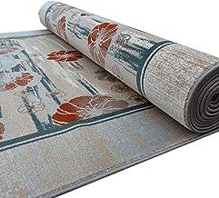YANZHEN Hallway Runner Rugs Dust-Proof Washable Non-Slip No Shedding Cotton Bottom Hall Hotel Carpet Runner (Color : Multi...