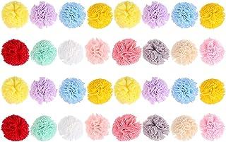 WINOMO 120Pcs Różne Pompony Multicolor Sztuki I Rzemiosła Piłki Pom Poms Dla DIY Art Kreatywne Rzemiosło Dekoracje 2. 5Cm