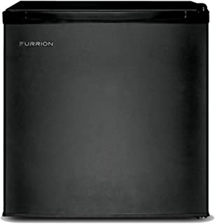 Furrion 1.7 cu.ft 110-120 Volt Compact, Energy Efficient, Single-Door Refrigerator (Matte Black) - FCR17ACA-BL