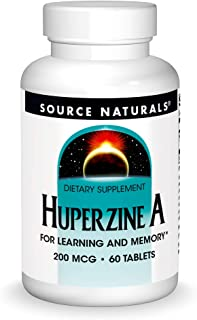 Source Naturals Huperzine A 200mcg for Learning & Memory - 60 Tablets