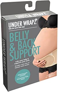 Under Wrapz - Belly & Back Support, Maternity Band with Gel Pack