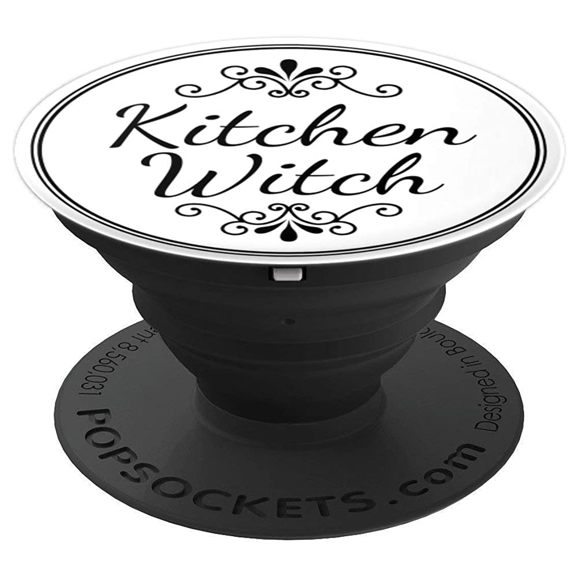 Kitchen Witch (Cursive) - PopSockets Grip and Stand for Phones and Tablets