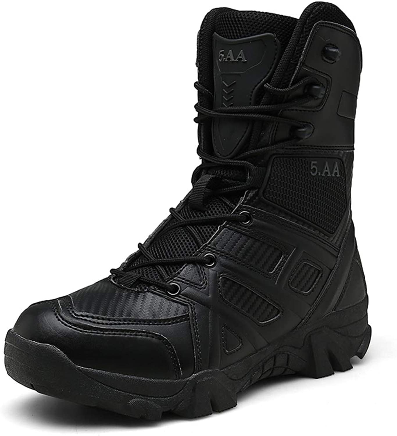 Tactical Boots Army Boot Breathable Fighting Large Size Outdoor high-top Waterproof wear-Resistant Desert Boots Non-Slip