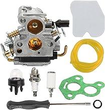 Hilom Carburetor with Air Filter Fuel Line Filter for Husqvarna 235 235E 236 236E 240..