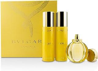 Bvlgari Goldea Eau De Parfum Spray 50ml & Body Milk 200ml & Bath And Shower Gel 200ml