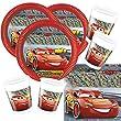 Procos 52-teiliges Disney Pixar Party-Set Cars 3 -