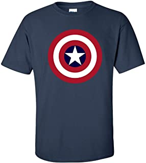 Captain America T-Shirt Marvel Comics Official Classic Movie Logo Tee