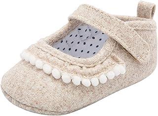 4 a/ños 15-25 Yardas Daringjourney Beb/é ni/ña Hueco Arco Color s/ólido Zapatos Princesa Punta Cerrada Sandalias Transpirables beb/é Caminando Zapatos Primer Paso Edad aplicable 6 Meses