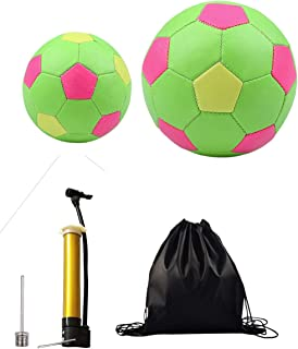 Soccer Balls - Size 2,Size 5 Traditional Soccer Balls - Youth Kids Baby and Toddlers Soccer Balls - Soccer Balls with Needle Pump Sports Bag