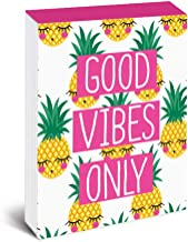 Graphique Pineapple Faces Pocket Notes – Pocket Notebook with Happy Blushing Pineapples,