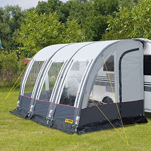 Reimo Tent Technology Wohnwagenvorzelt aufblasbar Rimini Air 390 Schnellaufbau-Luftgestänge