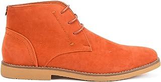 Reservoir Shoes Bottines à Bout Rond Homme