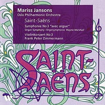 "Saint-Saëns: Symphony No. 3 ""Organ Symphony"" & Violin Concerto No. 3"