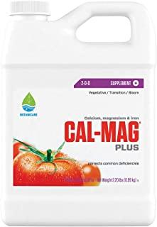Botanicare HGC732110 Cal-Mag Plus, A Calcium, Magnesium, And Iron Plant Supplement, Corrects Common Plant Deficiencies, Ad...