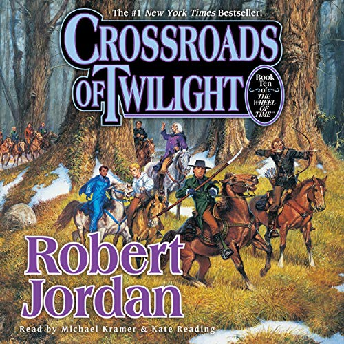 Crossroads of Twilight     Wheel of Time, Book 10              By:                                                                                                                                 Robert Jordan                               Narrated by:                                                                                                                                 Kate Reading,                                                                                        Michael Kramer                      Length: 26 hrs and 4 mins     881 ratings     Overall 4.4