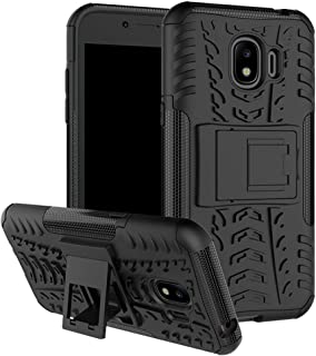 Galaxy J2 Pro Case,Galaxy J2 Pro 2018 Case SunRemex Durable Armor with Full Body and Heavy Duty Protection and Kickstand Design for Samsung Galaxy J2 Pro(2018) (Black)