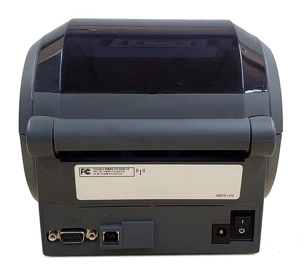 Zebra GX420D 802.11 Wireless WiFi Direct Thermal Label Printer (GX42-202710-000) (Renewed)