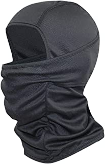 ZXYWW Balaclava Windproof & Sunscreen Face Mask Full Face Neck Gaiters, Winter Mask Face Cover for Skiing, Skating, Motorcycling(Black)