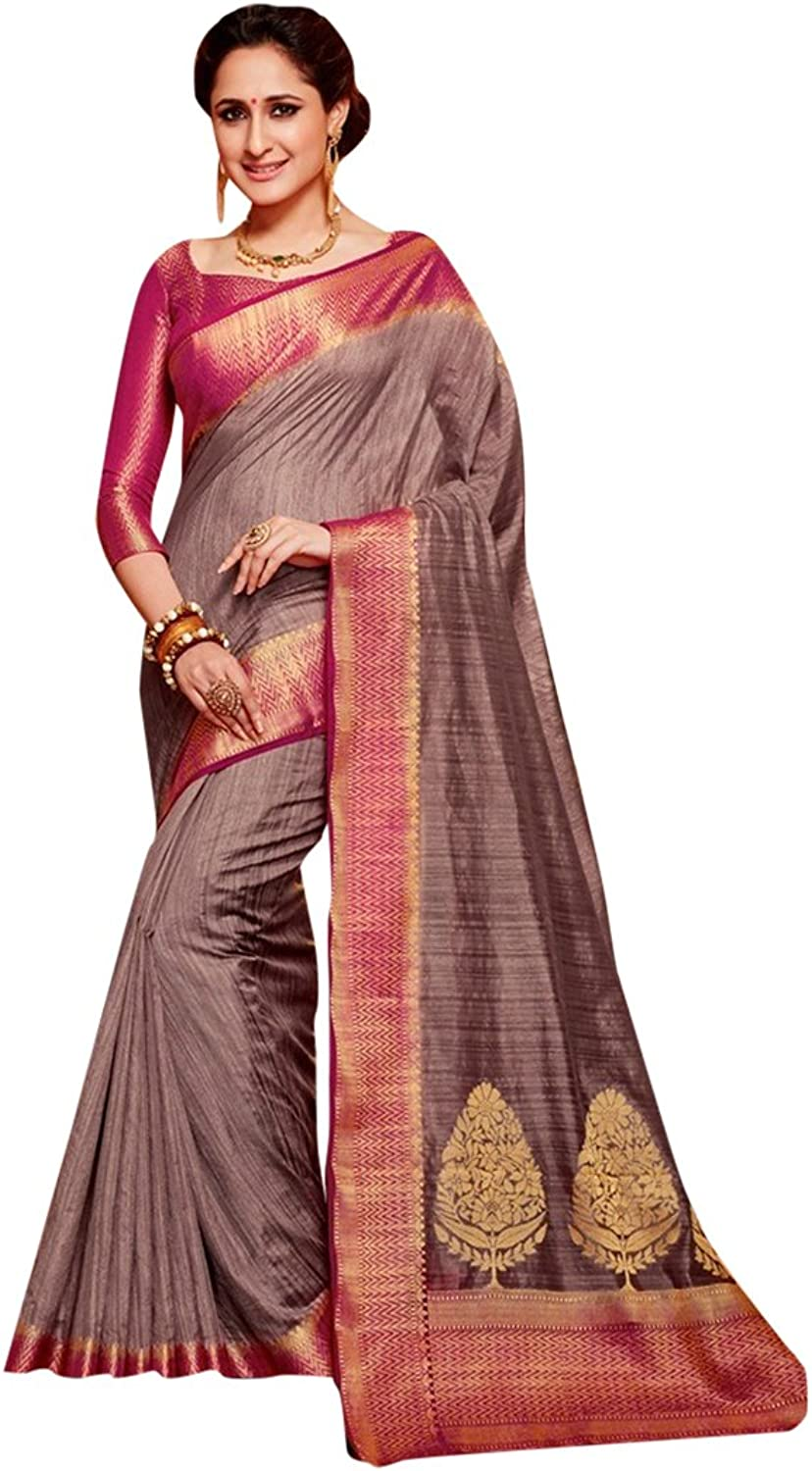 Designer Bollywood Silk Bridal Saree Sari for Women Latest Indian Ethnic Wedding Collection Blouse Party Wear Festive Ceremony 2602 21