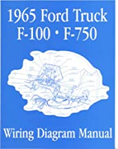 bishko automotive literature - Electrical Wiring Diagrams Schematic Manual for The 1965 Ford F-100 F-150 to F-750 Truck
