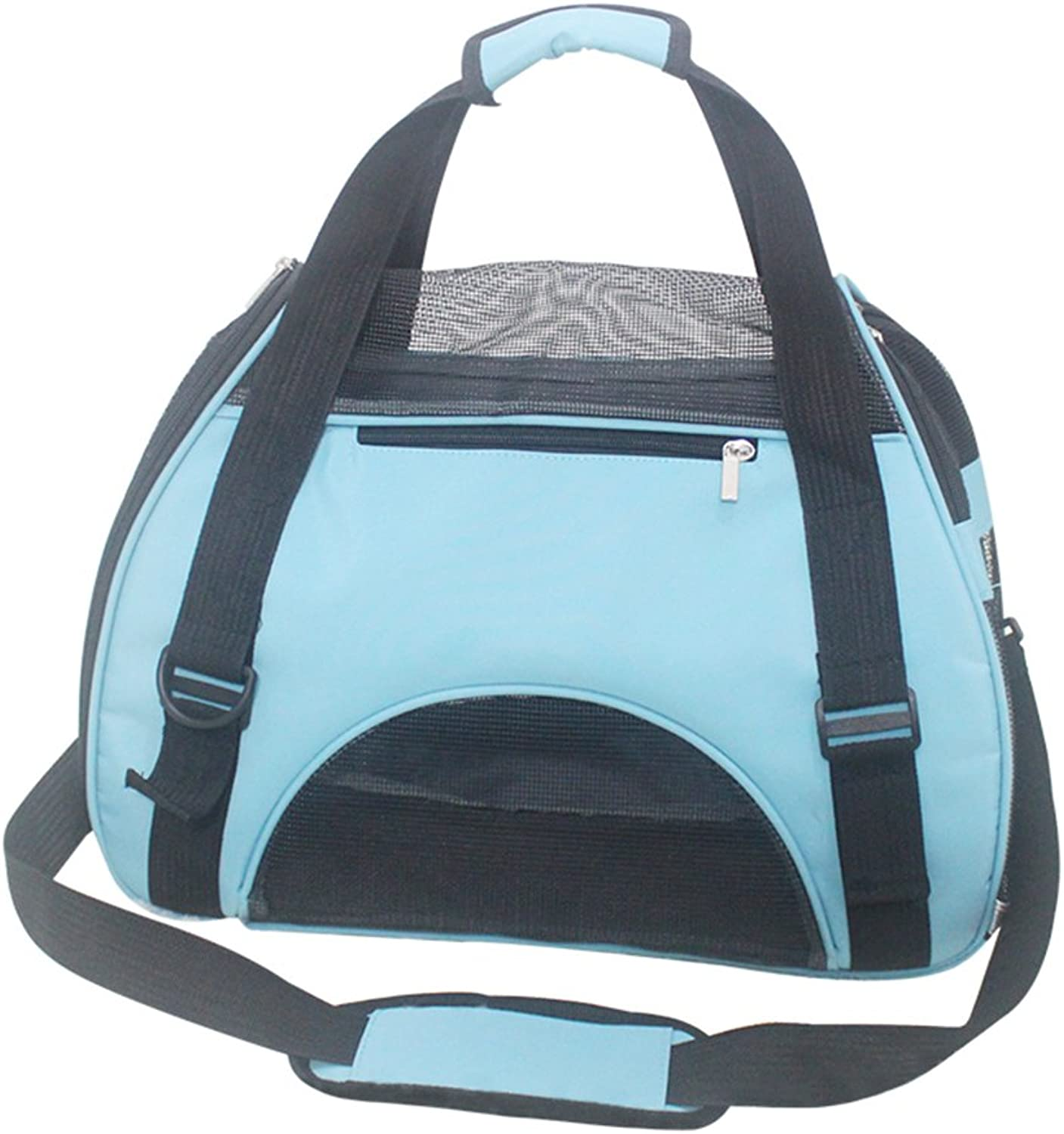 Pet Carrier Backpack SoftSided Strap Outdoor Travel Backpack Carrying Bag for Dogs and Cats Pet Carrier (Size   S)