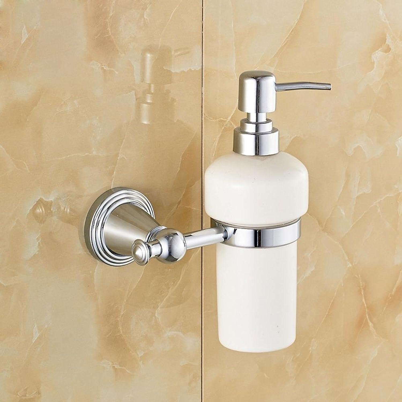 SSBY Copper, ceramic soap dispenser, soap dispenser bottle, chrome plated, gold-plated, antique bronze color sorting , Silver