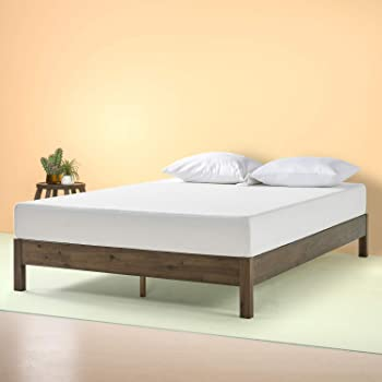 Zinus Tosha 12 Inch Wood Platform Bed, Full