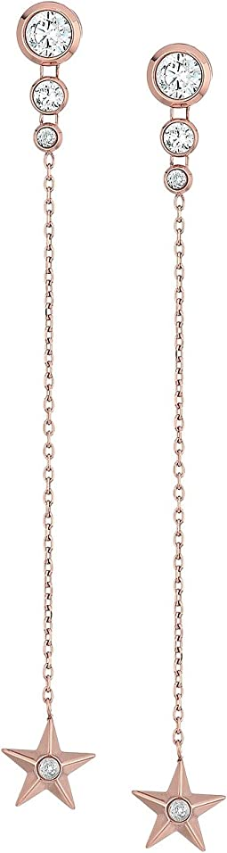 Michael Kors - Brilliance Star Linear Drop Earrings