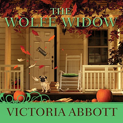The Wolfe Widow audiobook cover art