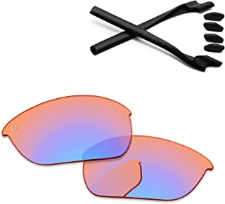 PapaViva Lenses Replacement & Rubber Kits for Oakley Half Jacket 2.0 OO9144