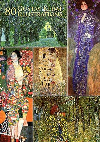 80 Gustav Klimt Illustrations (English Edition)