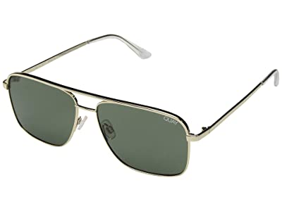 QUAY AUSTRALIA Quay x ARod Poster Boy (Gold/Green) Fashion Sunglasses