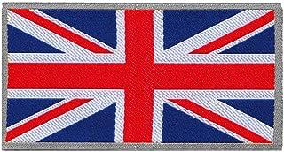 4R Quattroerre.it 14504 Klebepatch für Stoff, Englische Flagge