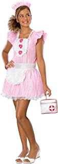 Drama Queens Nouveau Nurse Tween Costume, Small